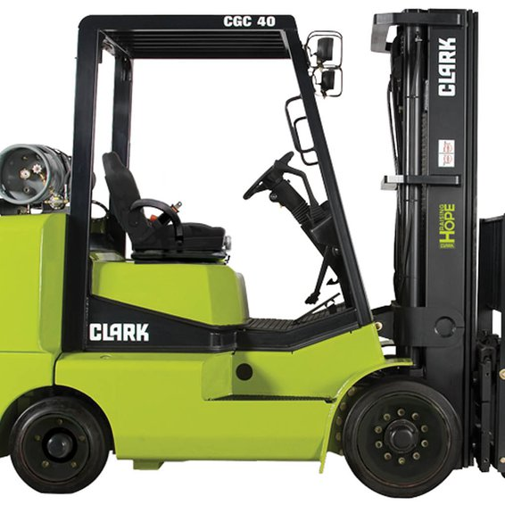 Clark CGC40 IC Cushion Forklift Clark CGC40 IC Cushion Forklift
