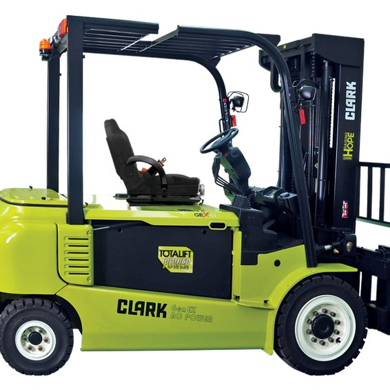 Clark GEX50 Electric Rider Forklift CLARK GEX50 Electric Forklift